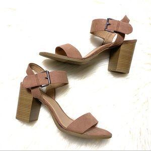 Madden girl ankle strap heeled sandals